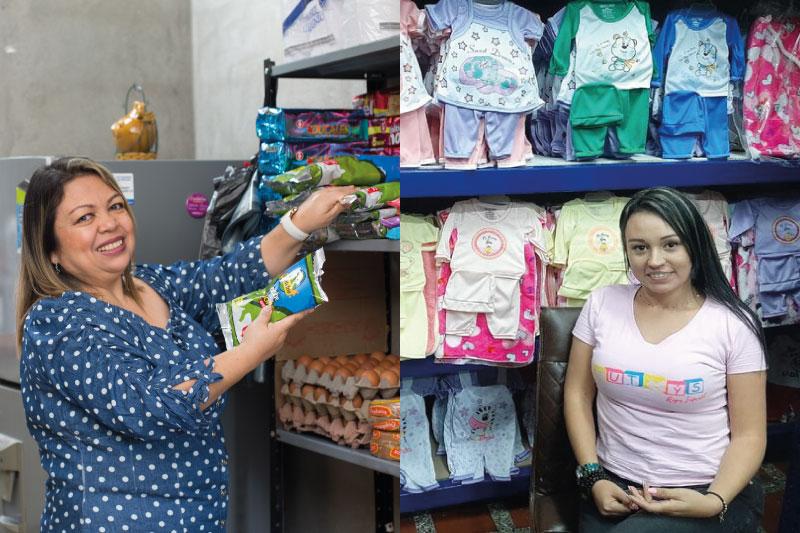 De los 28.115 créditos colocados por la Corporación Interactuar durante el 2020, año de la pandemia, 15.035 fueron otorgados a mujeres emprendedoras, por un valor de $113.000 millones de pesos, impulsando así su inclusión financiera.